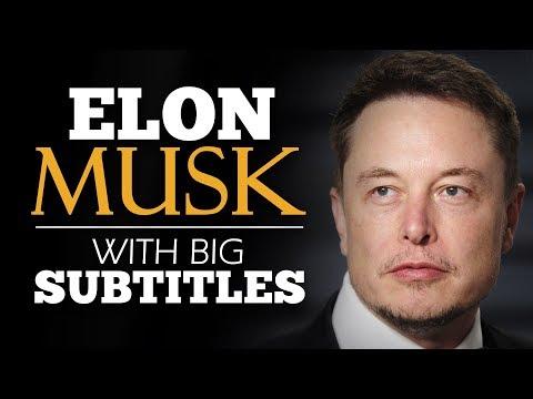 ENGLISH SPEECH | ELON MUSK: Future, A.I. and Mars (English Subtitles)