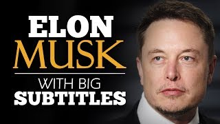 LEARN ENGLISH | ELON MUSK: Future, A.I. and Mars (English Subtitles)
