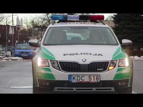 Antri po Vilniaus. Radviliškio gatvėse - naujos išvaizdos policijos automobiliai
