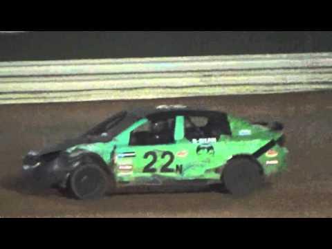 Ark la Tex Speedway 4 cylinder heat race 5/7/16