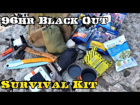 96Hr 4 Day Black Out Grid Down Survival Kit