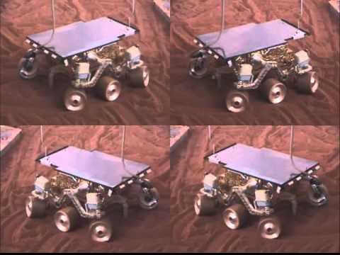 Exact Replica of the Mars Pathfinder Rover
