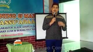 Cholidi Asadil Alam( pemeran KCB) Testimoni tentang SIT ASSU'ADAA