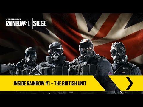Tom Clancy's Rainbow Six Siege Official - Inside Rainbow #1 – The British Unit [UK]