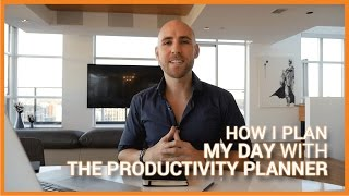 How I Plan My Day With The Productivity Planner