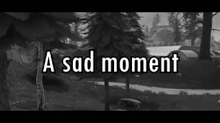 A very sad moment in Fortnite...