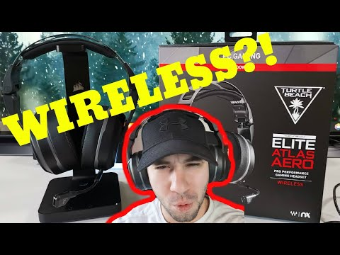 Turtle Beach Elite Atlas Aero Wireless Gaming Headset Review! (After a few weeks)