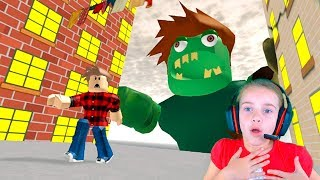 ПОБЕГ из ГОРОДА в Roblox игра Escape the City Obby в Роблокс