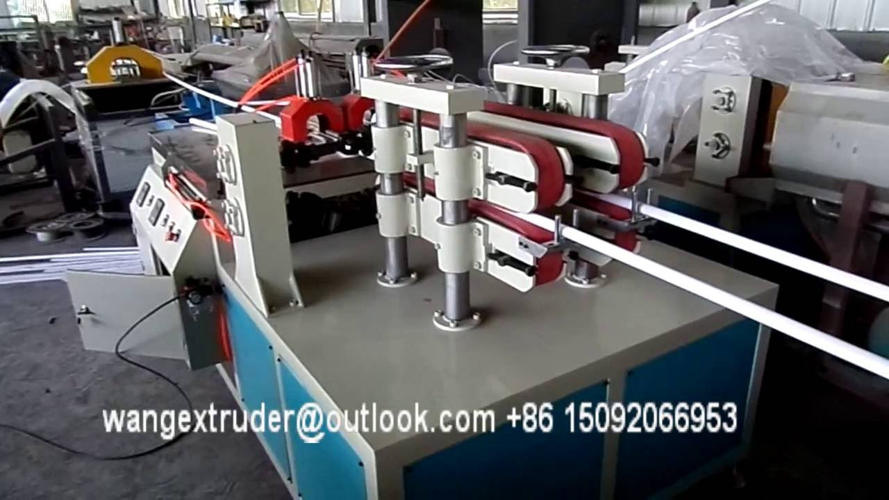 Pvc Electric Conduit Pipes Making Machine Cheap Type Youtube