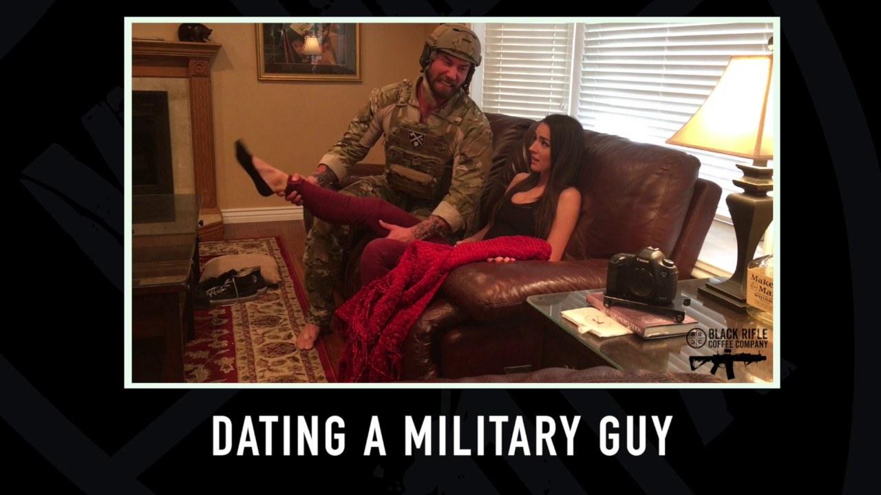 dating a guy in the military