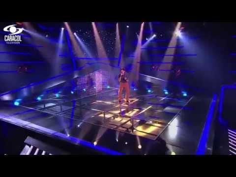 Fabio cantó 'Te vi venir' de Sin bandera - LVK Colombia- Audiciones a ciegas - T1