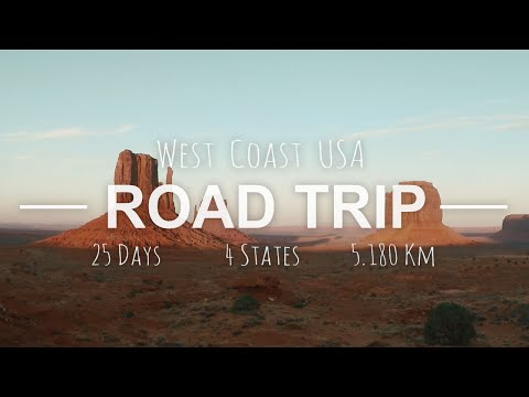 USA West Coast Road Trip 2016 - GoPro 4 HD