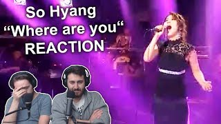 "Download Mp3 Singers Reaction/review To ""so Hyang - Where Are You"""