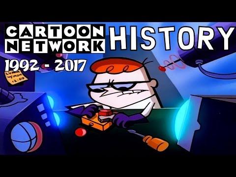 Cartoon Network History 1992 - 2017