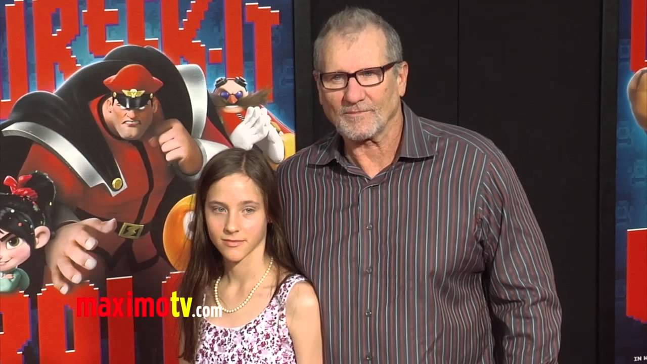 Ed O'Neill WRECK-IT RALPH World Premiere Cherry-Red Carpet ...