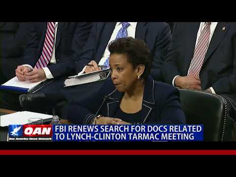 FBI Renews Search For Docs Related to Lynch-Clinton Tarmac Meeting