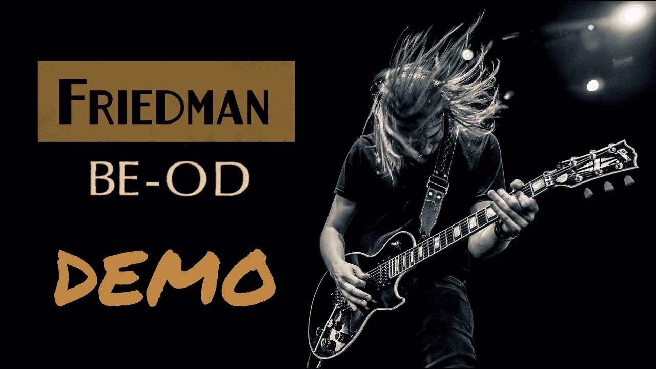 friedman be od pedal demo sammy boller youtube. Black Bedroom Furniture Sets. Home Design Ideas