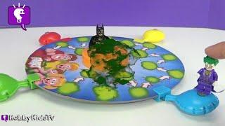 Lego BatmanJoker Fart Gas Chamber Who Tooted Adventure Story HobbyKidsTV