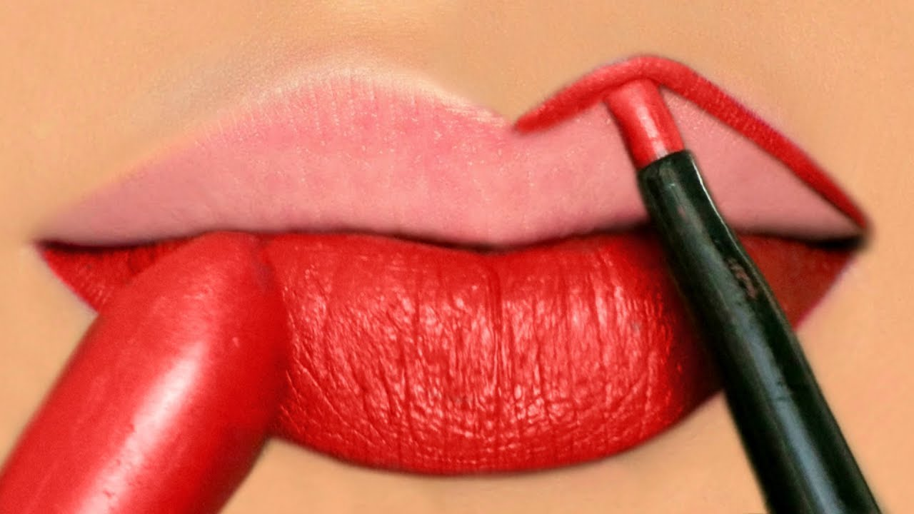 Image result for How To Apply RED Liquid Lipstick Perfectly - Makeup Tutorials for Beginners | Anayasa Anayasa