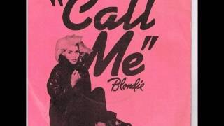 Blondie   Call Me 12 Inch Instrumental   1980