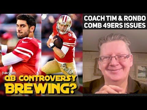 C.J. Beathard vs Jimmy Garoppolo | 49ers vs Giants Week 10 Recap