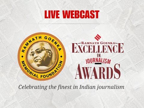 Full video: Ramnath Goenka (RNG) Excellence Awards
