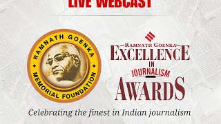 Full video: Ramnath Goenka (RNG) Excellence Awards
