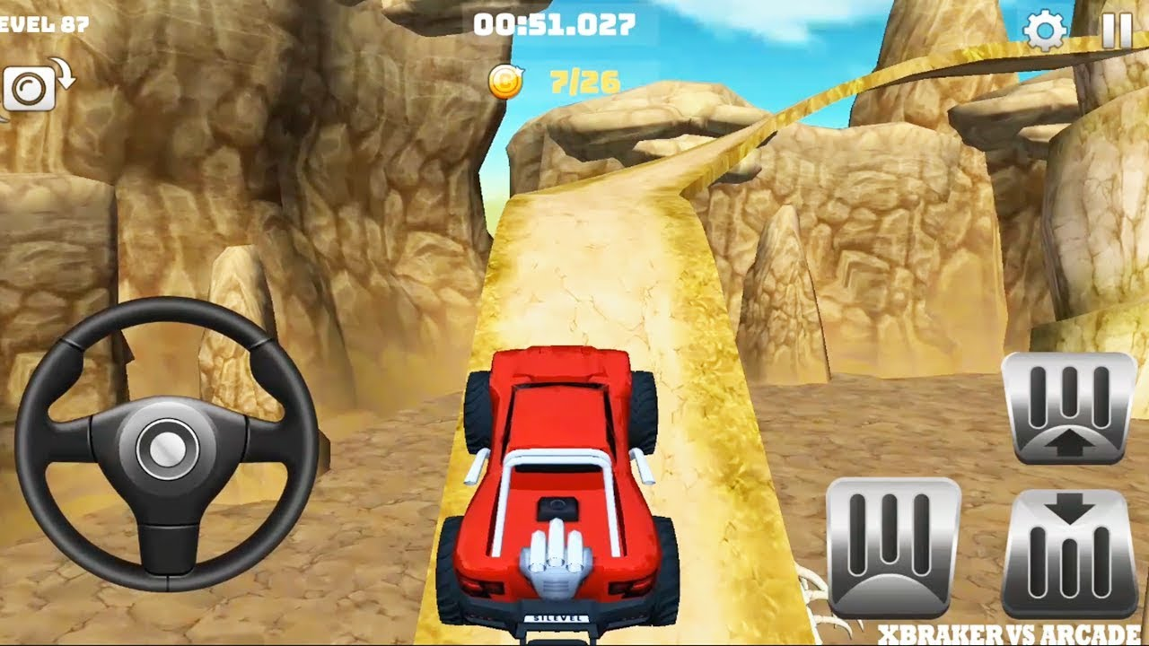Offroad Truck Driving   Mountain Climb 4x4: All Trucks Unlocked (new levels) - Android GamePlay# HD