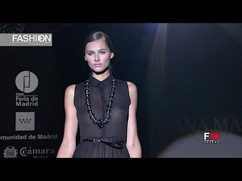 JUANA MARTIN Spring Summer 2013 Madrid - Fashion Channel
