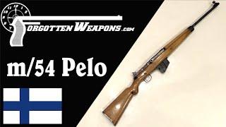 Captain Carl Pelo's Model 1954 Prototype Semiauto Rifle