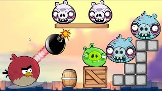 Boom Bad Piggies - BLOODY GAME DROP AND FORCE GRENADE TO BLAST BAD PIGS!