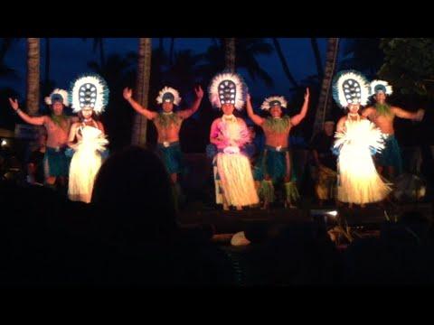 Hawaiian Luau at the Maui Lu, Kihei Hawaii c. 2011