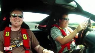 Ferrari GTO v Lexus LFA. Launch control and top speed runs...
