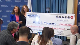 Mavis Wanczyk's historic Powerball win comes just months after a tr...