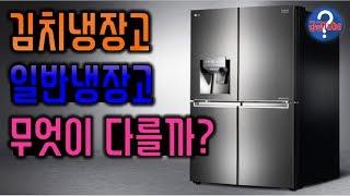 김치냉장고와 일반냉장고의 차이 [궁금Tube]
