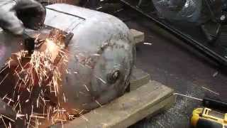 How to Cut Open a Propane Tank without Blowing Yourself Up