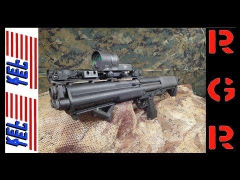 Our review of the Kel-Tec KSG bullpup 12 gauge shotgun.