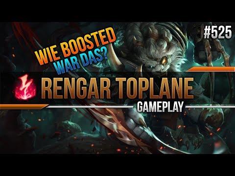WIE BOOSTED WAR DAS?! AP Rengar Toplane #525 [League of Legends] [Deutsch / German] thumbnail
