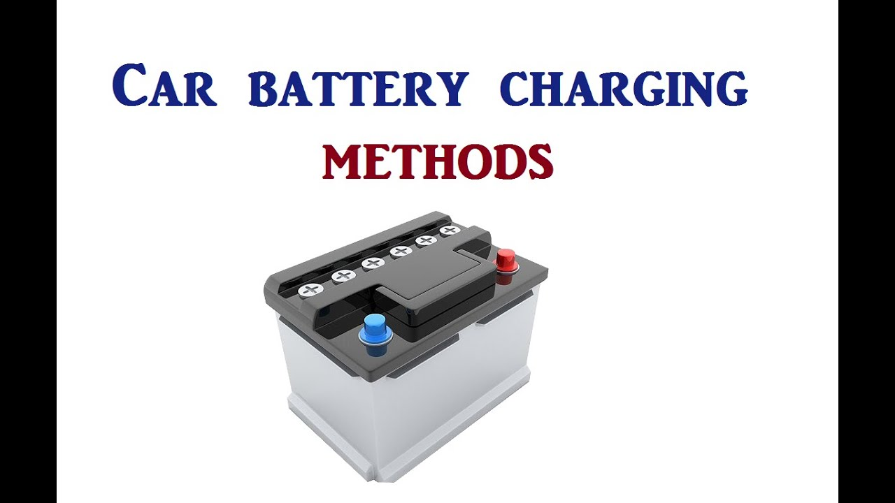 How To Charge A Car Battery Without A Charger >> How To Charge The Car Battery Without A Charger