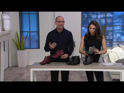 da8f3a27929 FLY London Leather Ruched Ankle Boots - Wezo on QVC - YouTube