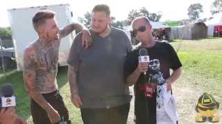JellyRoll, Lil Wyte & Caskey at the 2014 Gathering of the Juggalos