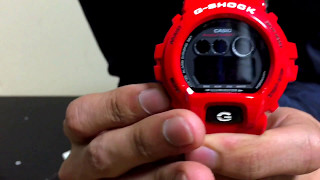 g shock gd x6900rd 4jf solid red special january 2016 released unboxing review