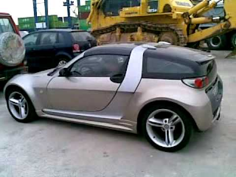 Sergio casero con un smart roadster coupe brabus 2004 youtube - Smart brabus roadster coupe ...