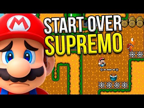 START OVER SUPREMO NAQUELA FASE SUPER EXPERT – Super Mario Maker (SUPER EXPERT)