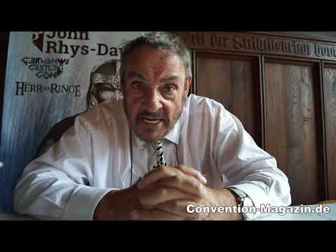 German Castle Con John Rhys-Davies Greetings