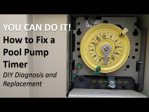 How to Fix a Pool Pump Timer (DIY Diagnosis and Replacement) - YouTube