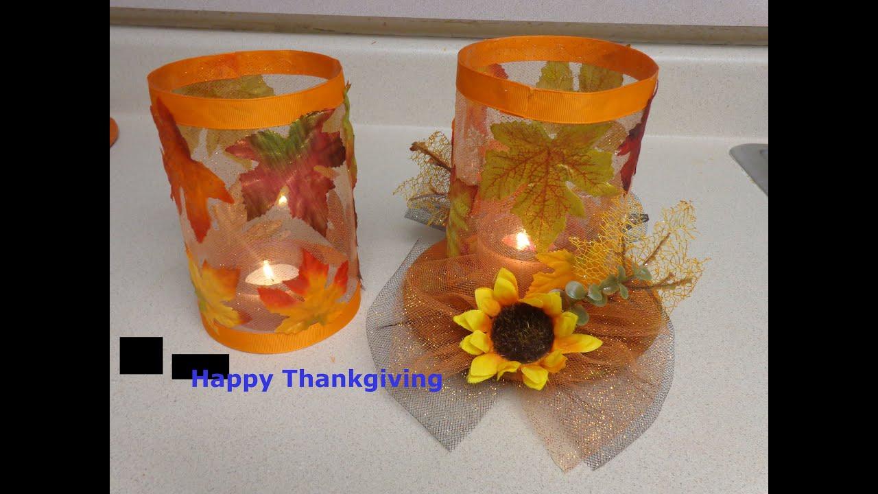 Diy manualidades de accion de gracias facil y economica for Manualidades faciles decoracion