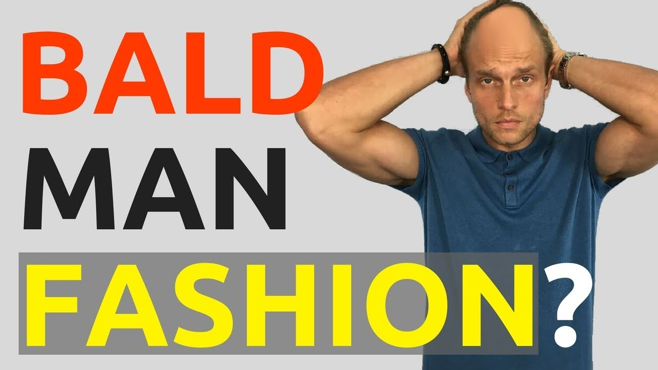bald man clothing style