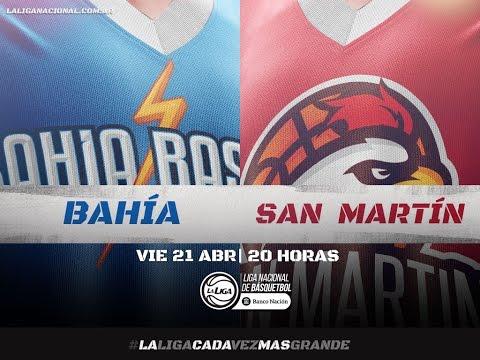Liga Nacional: Bahía Basket vs. San Martín | #LaLigaEnTyC