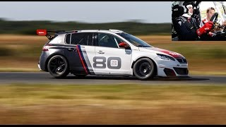 2017 Peugeot 308 Racing Cup [ESSAI VIDEO] : avec un grand huit (test sur circuit)